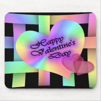 Happy Valentine's Day Mouse Mats