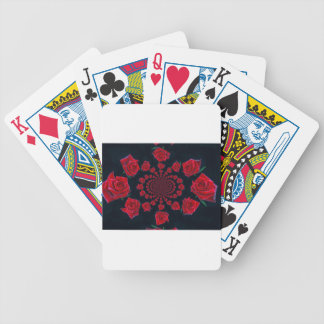 Happy Valentine Bicycle Playing Cards