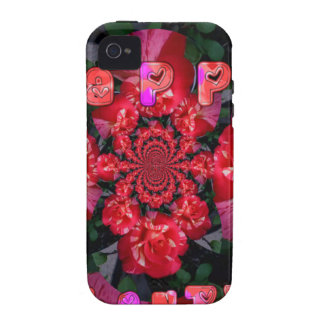 Happy Valentine Day png Vibe iPhone 4 Case