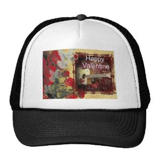 Happy Valentine day Tunes in my heart Trucker Hat