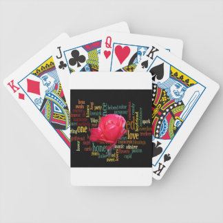 happy valentine in style.png bicycle playing cards