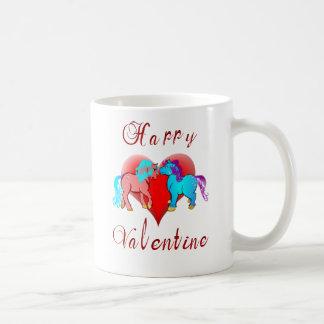 Happy Valentine Pony Mug