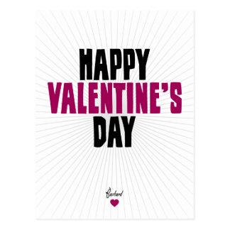 Happy Valentine s Day - Bastard Postcard
