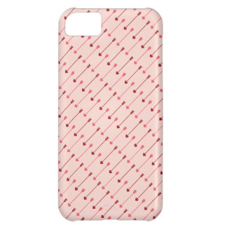 Happy Valentine s Day Cupid s Arrows Pink Red iPhone 5C Cover