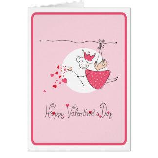 Happy Valentine`s Day Greeting Card