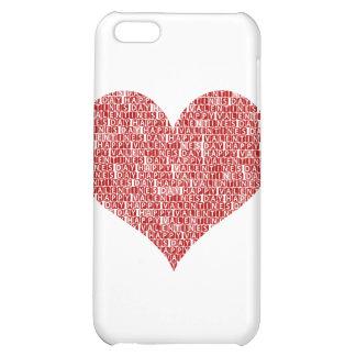 Happy valentine s day heart iPhone 5C cases