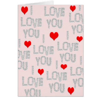 Happy Valentine's Day I Love You Card