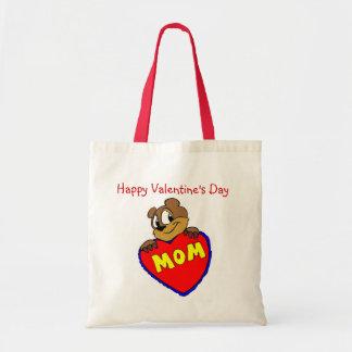Happy Valentine s Day Mom Tote Bag