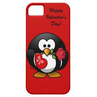Happy Valentine s Day Penguin iPhone 5/5S Cover