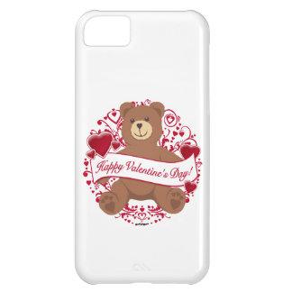 Happy Valentine s Day Teddy Bear iPhone 5C Cases