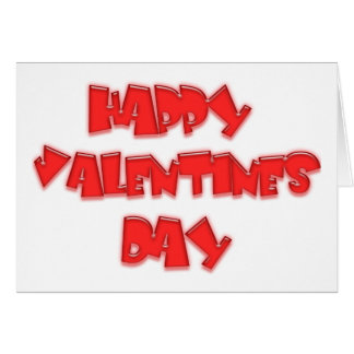 Happy Valentine´s products! Greeting Card