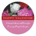 Happy Valentine Sticker sticker