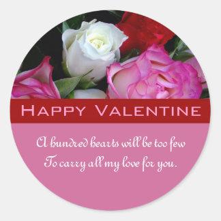 Happy Valentine Sticker