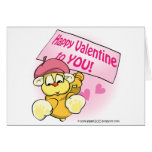 Happy Valentine To You Greeting Card