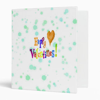 happy valentines binder