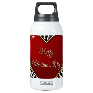 Happy Valentine's Day 10 Oz Insulated SIGG Thermos Water Bottle