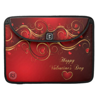 Happy Valentine's Day 1 Mac Book Sleeve