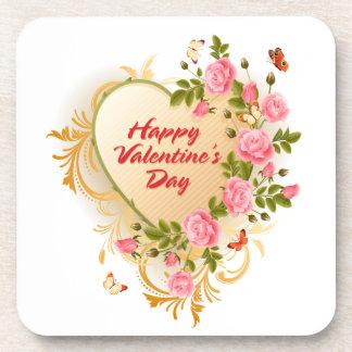 Happy Valentine's Day 2 Coaster