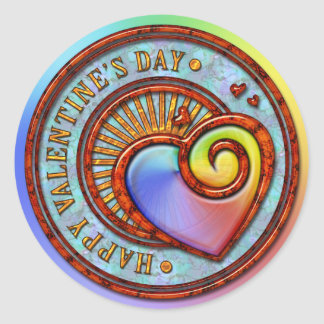 Happy Valentine's Day 2A Sticker