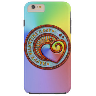 Happy Valentine's Day 2A Tough iPhone 6 Plus Case