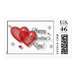 Happy Valentines Day 3 stamp