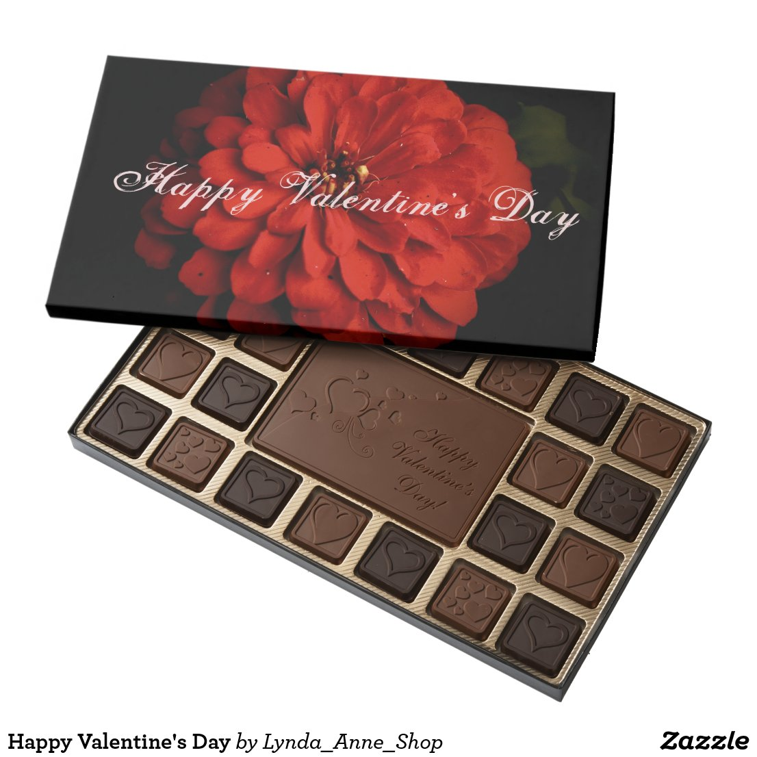 Happy Valentine's Day 45 Piece Box Of Chocolates