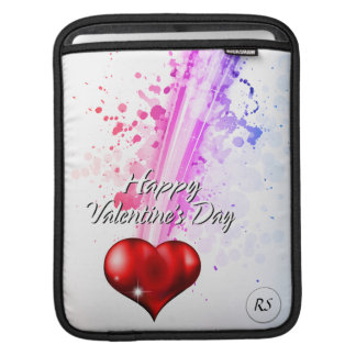 Happy Valentine's Day 6 iPad Sleeve