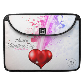 Happy Valentine's Day 6 Mac Book Sleeve