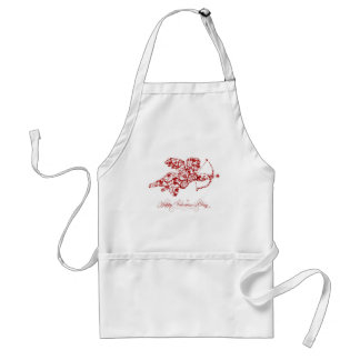Happy Valentines Day Adult Apron