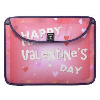 Happy Valentine's day background MacBook Pro Sleeve
