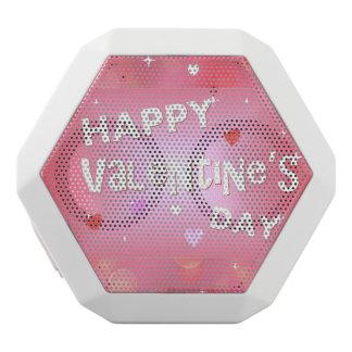 Happy Valentine's day background White Bluetooth Speaker
