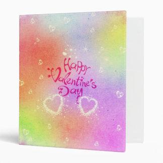 happy valentines day binder