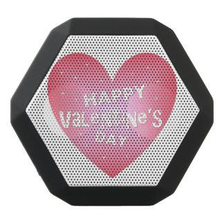 Happy Valentine's day Black Bluetooth Speaker