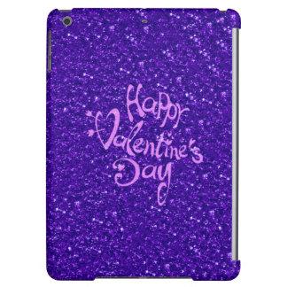 happy Valentines Day, blue iPad Air Case
