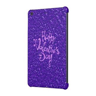 happy Valentines Day, blue iPad Mini Covers