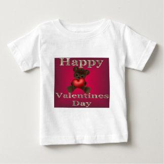 happy valentines day brown baby T-Shirt