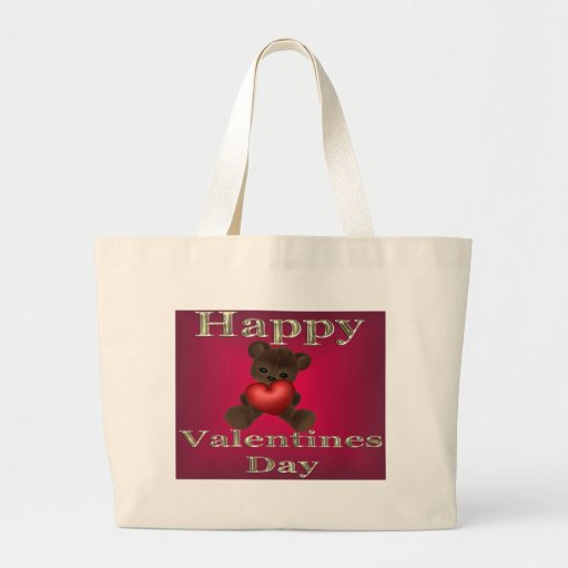 happy valentines day brown bags