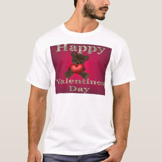 happy valentines day brown T-Shirt