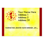 Happy Valentine's Day Large Business Cards (Pack Of 100)