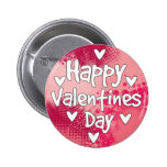 Happy Valentines Day Buttons