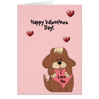 Happy Valentines Day - card
