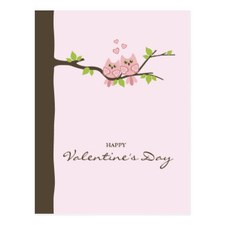 Happy Valentine's Day Card Postcard