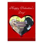 Happy Valentine's Day Cocker Spaniels card