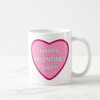"""Happy Valentine's Day"" Coffee Mugs"