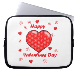 Happy Valentines Day Computer Sleeve