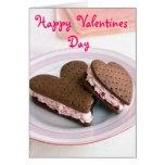 Happy Valentines Day Cookie Card
