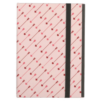 Happy Valentine's Day Cupid's Arrows Pink Red iPad Air Cases