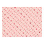 Happy Valentine's Day Cupid's Arrows Pink Red Postcard