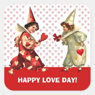 Happy Valentine's Day. Custom Gift Stickers