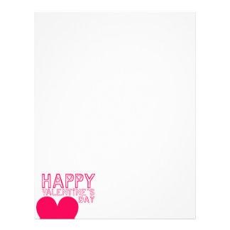 Happy Valentine's day Cute typo Letterhead
